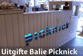 PRJ 100 Uitgifte balie Picknick Rotterdam